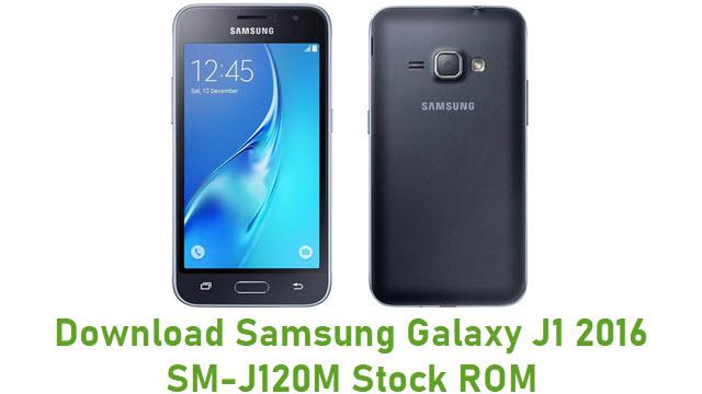 Download Samsung Galaxy J1 2016 SM-J120M Stock ROM