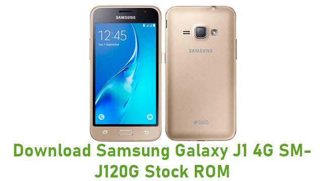 Download Samsung Galaxy J1 4G SM-J120G Stock ROM
