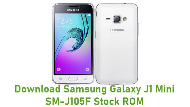 Download Samsung Galaxy J1 Mini SM-J105F Stock ROM