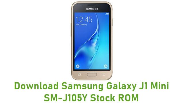 Download Samsung Galaxy J1 Mini SM-J105Y Stock ROM