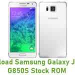 Samsung Galaxy J1 SM-G850S Stock ROM