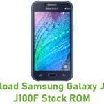 Samsung Galaxy J1 SM-J100F Stock ROM