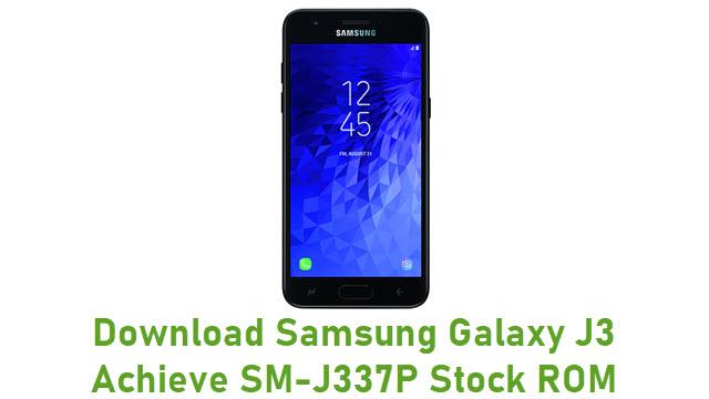 Download Samsung Galaxy J3 Achieve SM-J337P Stock ROM