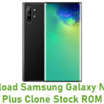 Samsung Galaxy Note 10 Plus Clone Stock ROM