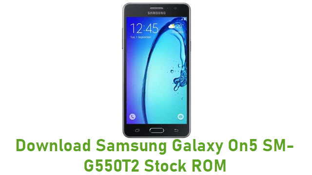 Download Samsung Galaxy On5 SM-G550T2 Stock ROM