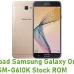 Samsung Galaxy On7 2016 SM-G610K Stock ROM