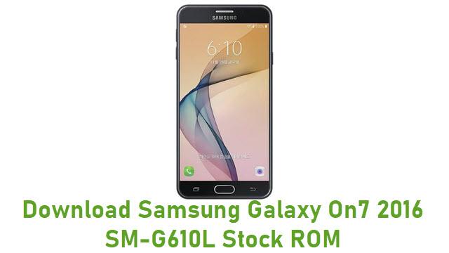 Download Samsung Galaxy On7 2016 SM-G610L Stock ROM