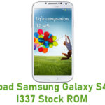 Samsung Galaxy S4 SGH-I337 Stock ROM
