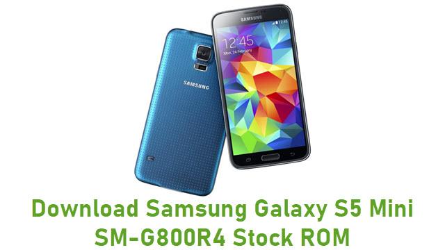 Download Samsung Galaxy S5 Mini SM-G800R4 Stock ROM