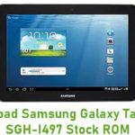 Samsung Galaxy Tab 2 10.1 SGH-I497 Stock ROM
