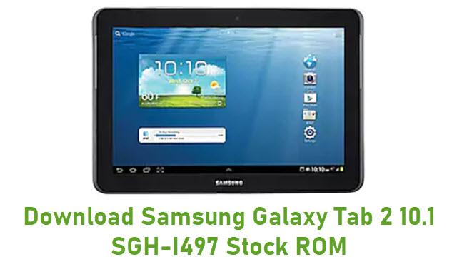 Download Samsung Galaxy Tab 2 10.1 SGH-I497 Stock ROM