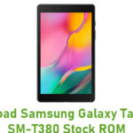 Download Samsung Galaxy Tab A 8.0 SM-T380 Stock ROM