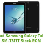 Download Samsung Galaxy Tab S2 9.7 SM-T817T Stock ROM