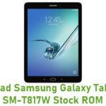 Samsung Galaxy Tab S2 9.7 SM-T817W Stock ROM