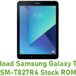 Download Samsung Galaxy Tab S3 SM-T827R4 Stock ROM