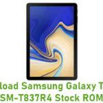 Samsung Galaxy Tab S4 10.5 SM-T837T Stock ROM