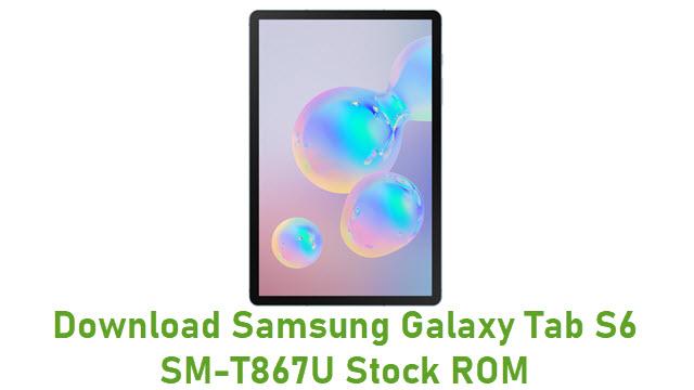 Download Samsung Galaxy Tab S6 SM-T867U Stock ROM