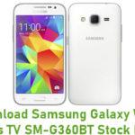 Samsung Galaxy Win 2 Duos TV SM-G360BT Stock ROM
