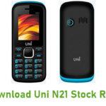 Uni N21 Stock ROM
