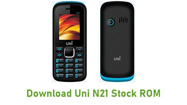 Download Uni N21 Stock ROM