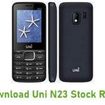 Uni N23 Stock ROM