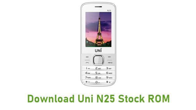 Download Uni N25 Stock ROM