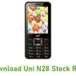 Uni N28 Stock ROM