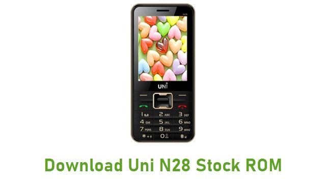 Download Uni N28 Stock ROM