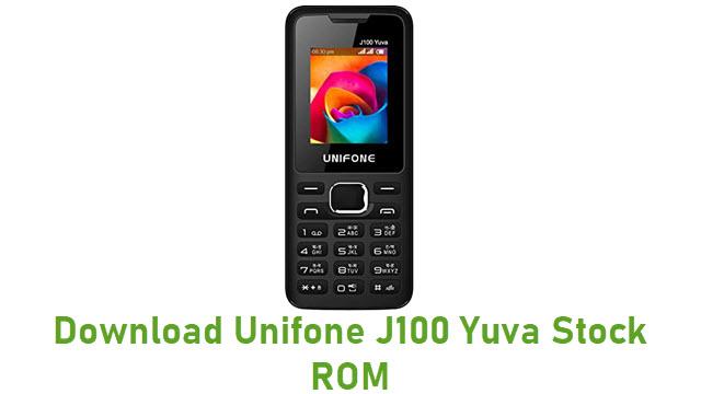 Download Unifone J100 Yuva Stock ROM