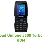 Unifone J300 Turbo Stock ROM