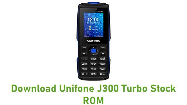 Download Unifone J300 Turbo Stock ROM