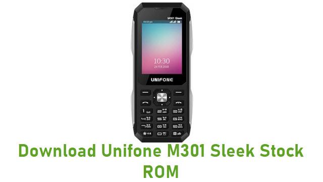 Download Unifone M301 Sleek Stock ROM