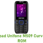 Unifone M509 Curve Stock ROM