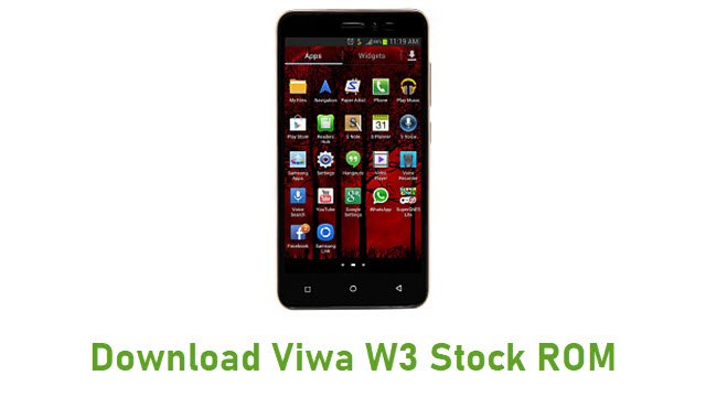 Download Viwa W3 Stock ROM