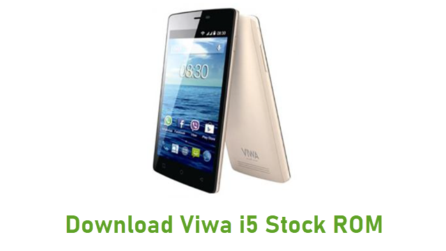 Download Viwa i5 Stock ROM
