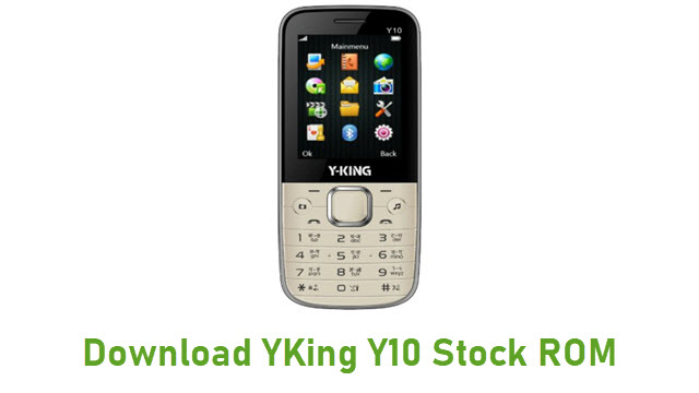 Download YKing Y10 Stock ROM