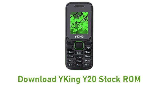 Download YKing Y20 Stock ROM