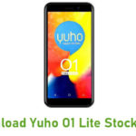 Yuho O1 Lite Stock ROM