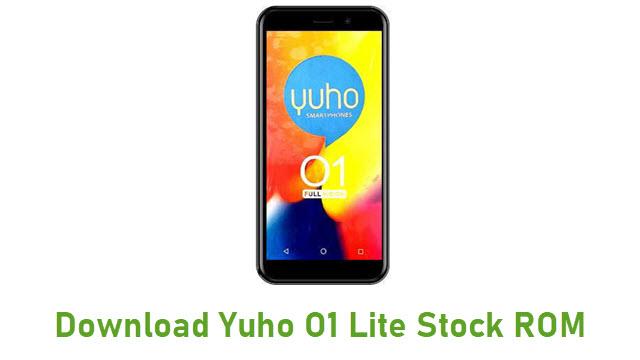 Download Yuho O1 Lite Stock ROM