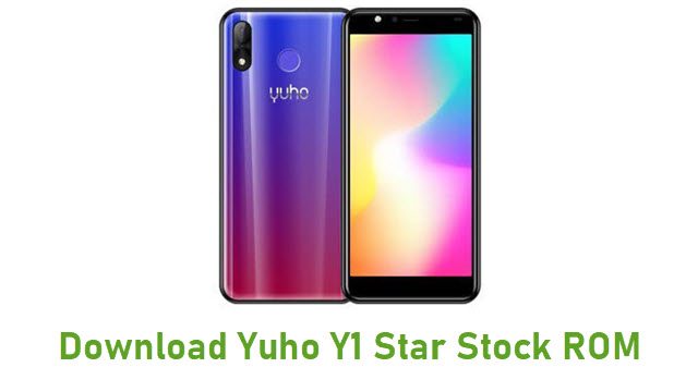 Download Yuho Y1 Star Stock ROM