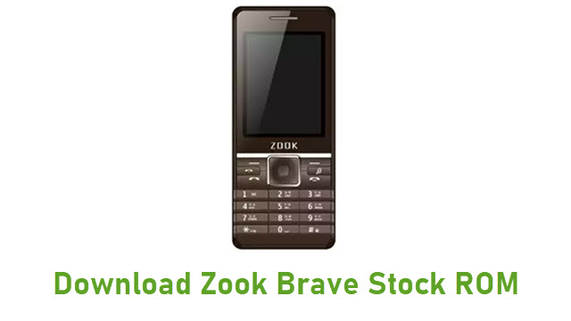 Download Zook Brave Stock ROM