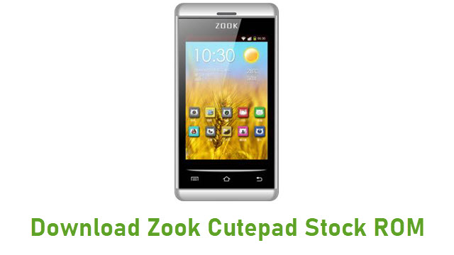 Download Zook Cutepad Stock ROM