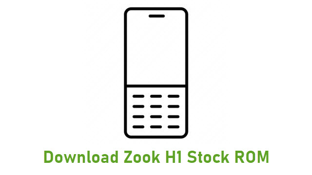Download Zook H1 Stock ROM