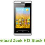 Zook H12 Stock ROM