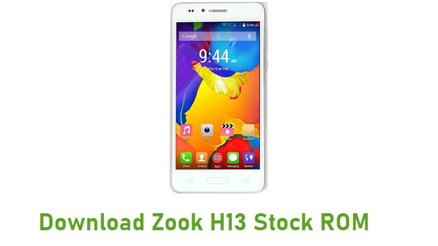 Download Zook H13 Stock ROM