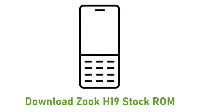 Download Zook H19 Stock ROM
