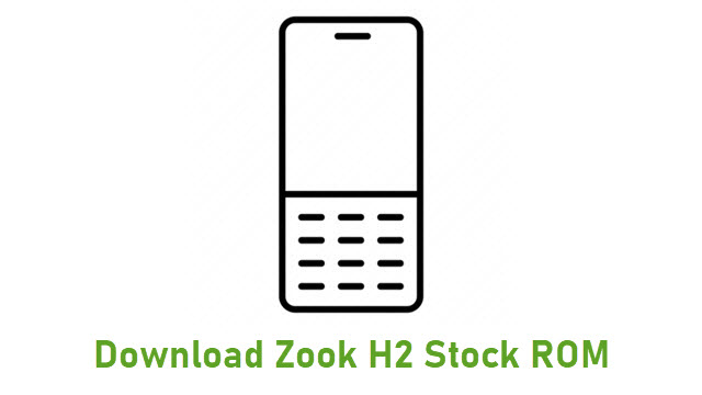 Download Zook H2 Stock ROM