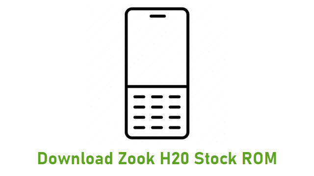 Download Zook H20 Stock ROM
