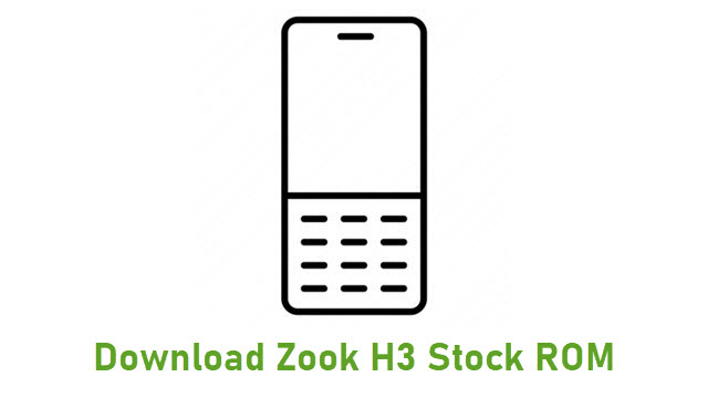 Download Zook H3 Stock ROM