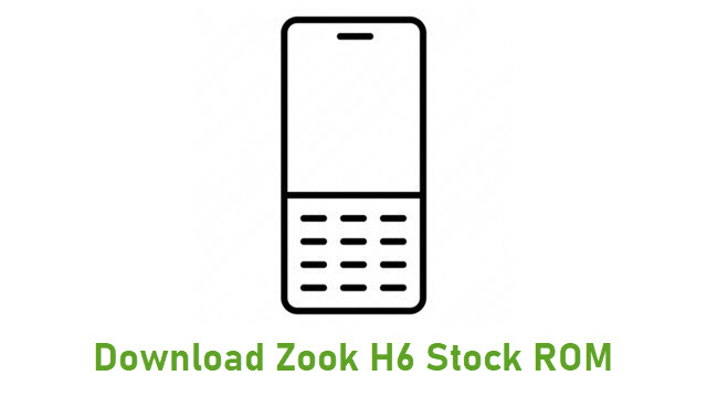 Download Zook H6 Stock ROM